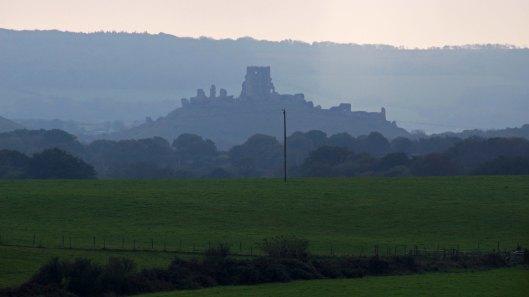 171028 Corfe Castle from Arne